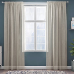 XPOSE ® Záclona IRIS - krémová 150x180 cm - Vánoční - RodinneBaleni