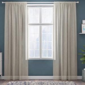 XPOSE ® Záclona IRIS - krémová 150x250 cm - Vánoční - RodinneBaleni