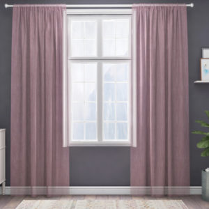 XPOSE ® Záclona IRIS - starorůžová 150x160 cm - Vánoční - RodinneBaleni