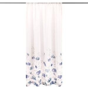 4Home Závěs Floral modrá